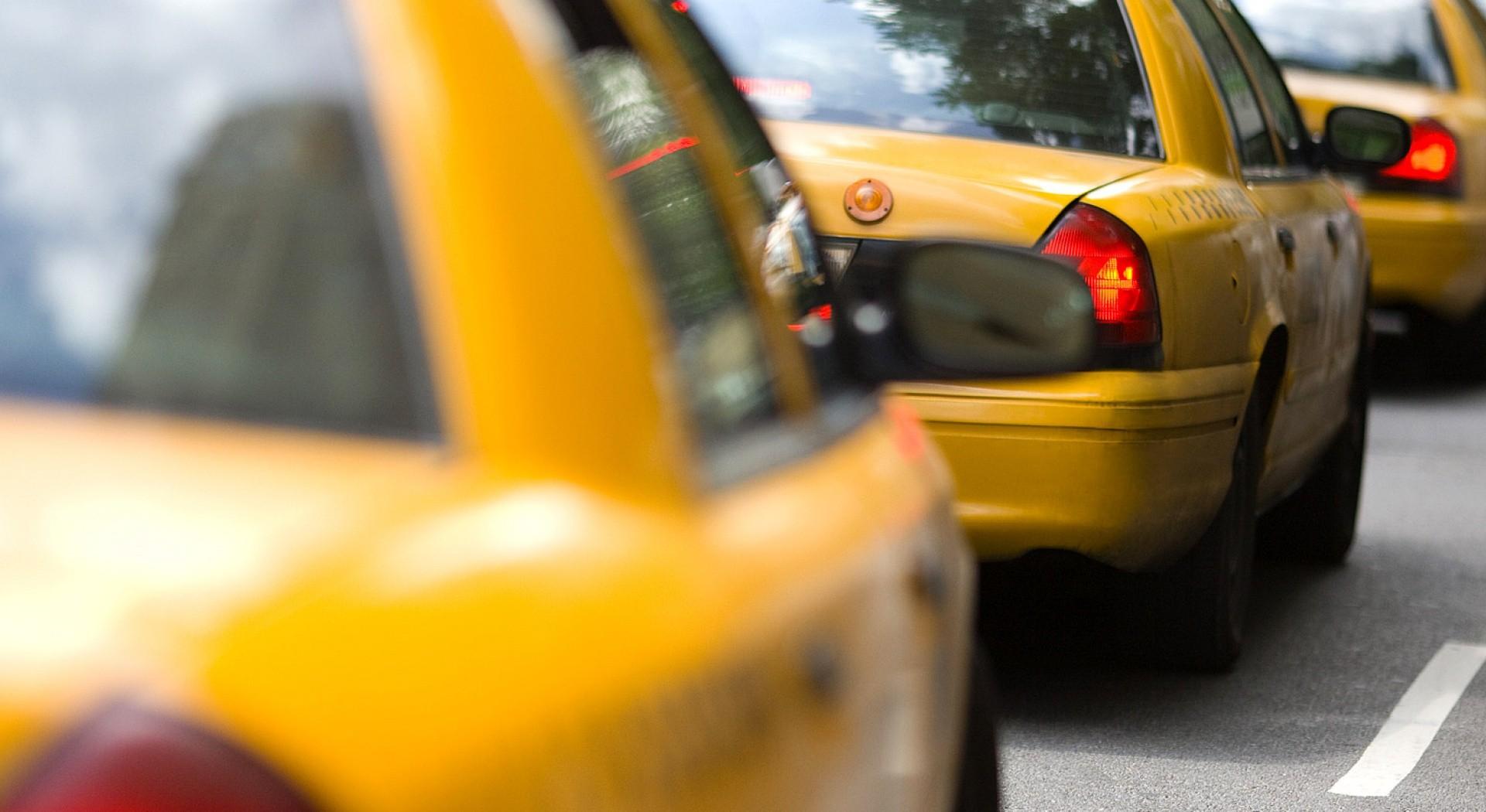 Taxicab Close-up